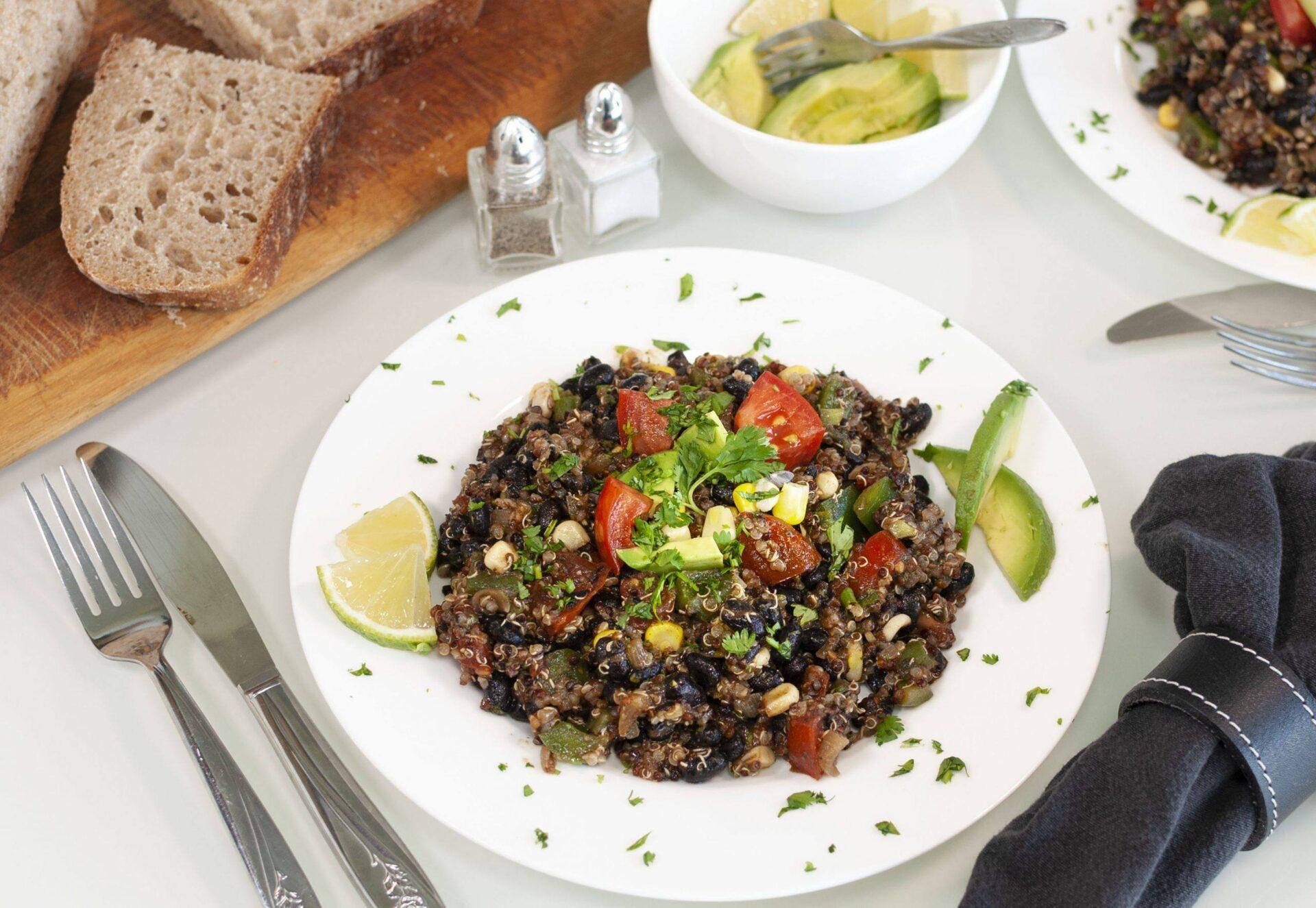 VeggieOutlaws Quinoa Power Salad