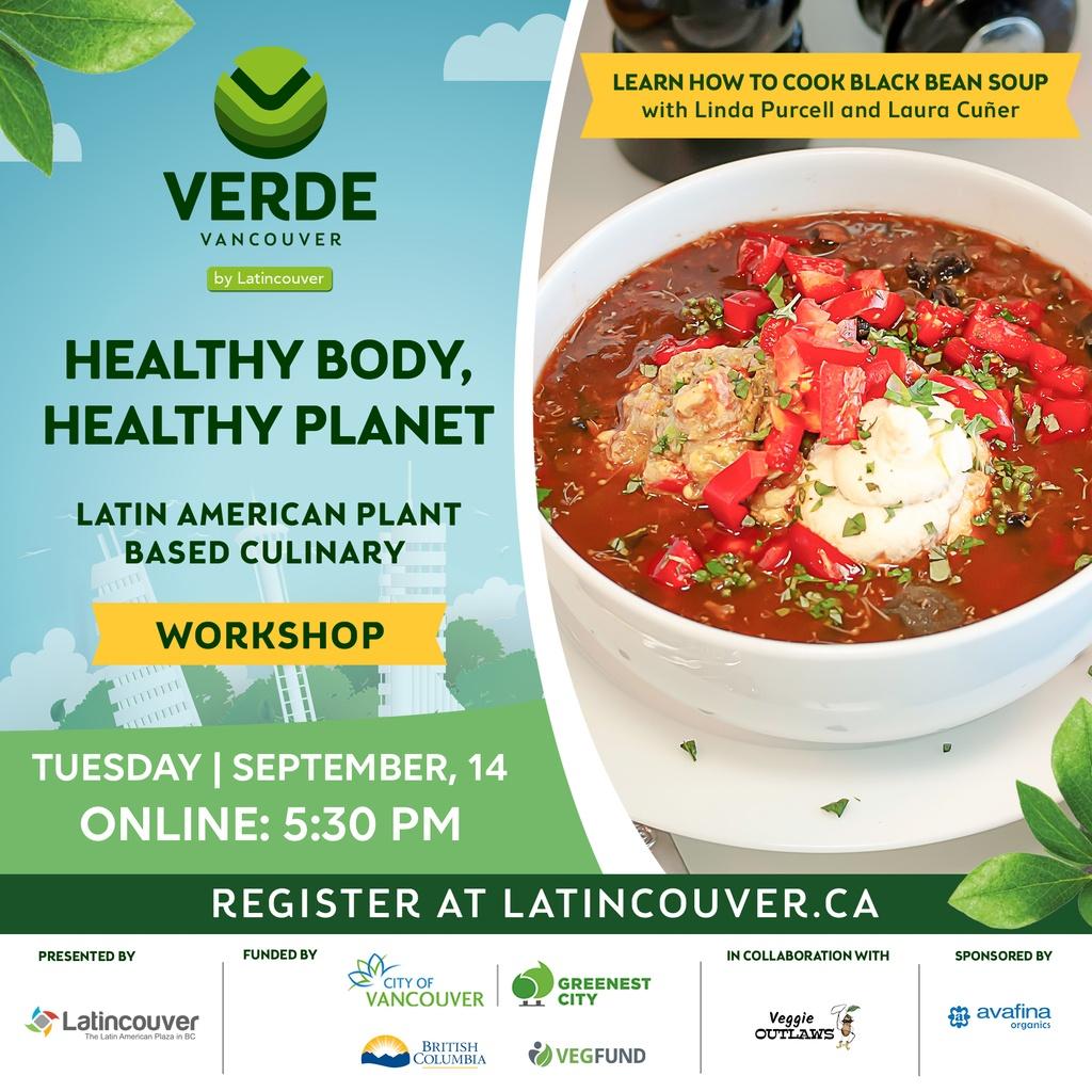 Healthy Body Healthy Planet online Workshop